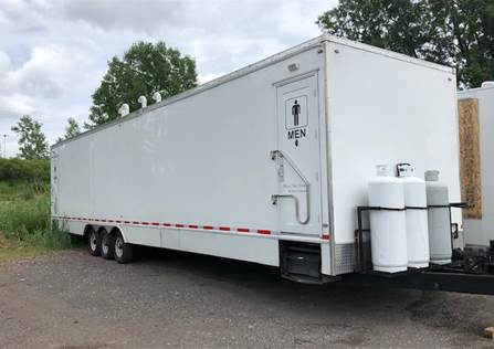 Used Shower Trailers for Sale - NRT - Sales