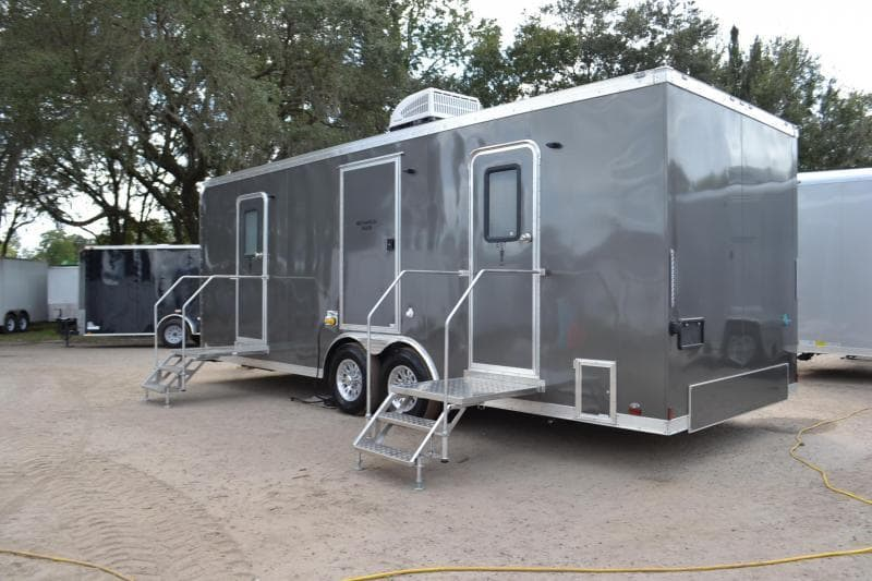 A New Restroom Trailer For Sale