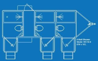 Used Shower Restroom Layout